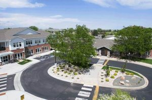 Image of New Mercer Commons facility - exterior